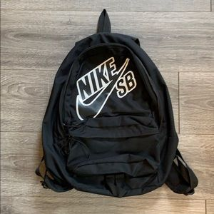 Nike SB Black Back Pack Book Bag
